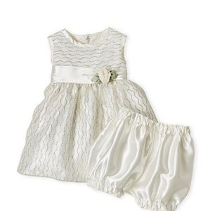 Other - Princess Faith Glitter tank dress ivory color